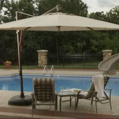 Find a large selection of Offset Pole Umbrellas. The Side Post Umbrellas have a Cantilevered Canopy. Unbostructed shade on your patio, deck or porch. Best Patio Umbrella, Cantilever Patio Umbrella, Pool Umbrellas, Outdoor Umbrellas, Offset Patio Umbrella, Outdoor Shade, Shade Structure, Market Umbrella, Backyard Projects