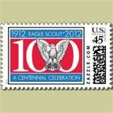 Eagle Scout Stamp stamps by boyscouts