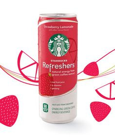 Just tried the new Starbucks Refreshers Strawberry Lemonade...only 60 calories too! Not too shabby:-)