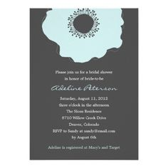 ReviewModern Poppy Bridal Shower Invitations (Soft Blue) Personalized InvitationsYes I can say you are on right site we just collected best shopping store that have