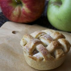 Mini Apple Pies - in muffin tins! I am in charge of dessert this year! yay!