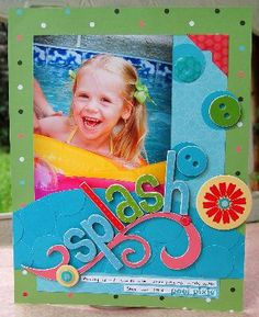 Projects: Scrapbooking by Charity H at 3M site
