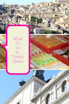 What to do in Toledo Spain (Castilla-La Mancha in central Spain)? We visit the famous pastilería Santo Tomé where marzipan is artfully handcrafted into...