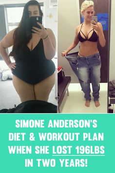 Simone Anderson Pretscherer started her weight loss journey at 169kg or 372 pounds, going frrom a size 28/30 to a size 12 in a little under two years. Simone has over 190,000 followers on her Instagram page (be sure to follow her below) who she motivates with updates of her progress and motivational pics. Simone u2026 #weightlosstips