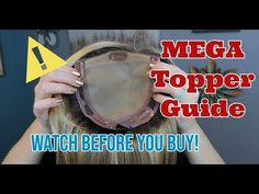 Mega Topper Guide for Female Hair Loss - YouTube Hair Loss Women, Cosmetology, Hair Pieces, Female Hair, Your Hair, Hair Care, Hair Beauty, Perms, Youtube