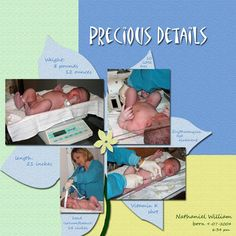 baby scrapbook ideas | precious details of baby we never want to forget how much our baby ...