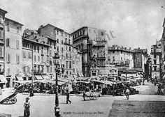Campo de' Fiori Street View, Italy, Antiques, Painting, Beautiful, Instagram, Rome, Antiquities, Italia