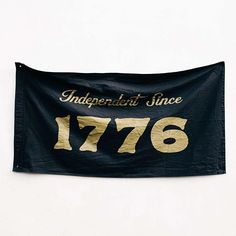Independent Since 1776.  Proud to be an American company supporting American manufacturing. Happy 4th of July!  Shop our custom 1776 flags online.  #WeatheredCo #independenceday #1776 #wildstandard #:flag_us: #:flag_black: #austin #atx #free #madeinameric