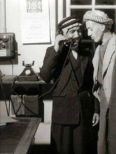 عام 1935 م بغداد علما ان الهاتف استخدم في العراق عام 1910