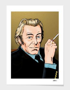 Discover «Peter O'Toole», Limited Edition Fine Art Print by Dan Avenell - From $29 - Curioos