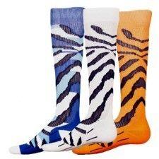 TIGER STRIPE COMPRESSION RUNNING SOCKS - MyFunkySocks   $20.00