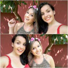 E tem vídeo novo com a bonita aqui  @__jujumoura !  Corre lá no https://youtu.be/pYBHT-V7d-c  #aneehalves #blog #desafio #tortanacara #bagunça #youtuber #YouTube #beleza #beautyblog