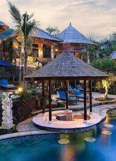 How about adding a once in a lifetime trip to Bali to your charity auction Vacation Places, Dream Vacations, Beautiful Places To Visit, Beautiful Homes, Backyard Retreat, Pool Designs, Places Around The World, My Dream Home, Future House