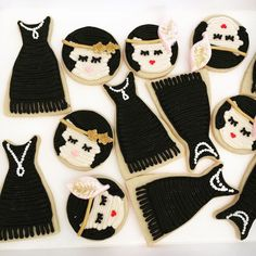 flapper buttercream flapper buttercream cookie Jake and The Neverland Pirates Cake Roaring 20s Party, 1920s Party, Gatsby Party, Gatsby Wedding, Party Wedding, Wedding Ideas, Gatsby Cookies, Fun Cookies, Iced Cookies