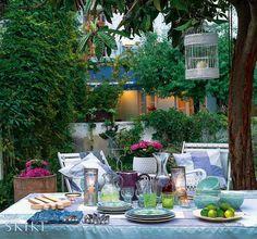 Garden view, House in Lisbon, photo by Caras Decoração Magazine | Skike Design