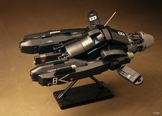Maschinen Krieger – Lego Griffon Antigravity Armored Raider   by _Tiler