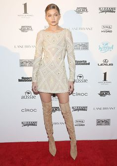 Pin for Later: Let Gigi Hadid's Sexy Neutral Look Prove That Beige Is Officially Not Boring