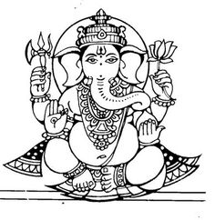 ganesha free clip art (check out the whole blog for other free clip art)