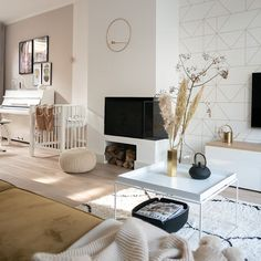 Future House, Cosy, New Homes, Interior Design, Living Room, Table, Inspiration, Furniture, Home Decor