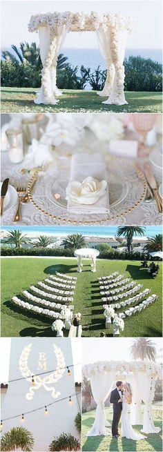Featured Photographer: Elizabeth Messina Photography; Wedding ceremony idea.