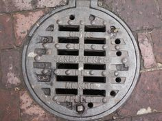 Mexican #Sewer Grate- Each country #handles sanitation in its own way. Some countries such as Mexico use sewer grates to properly drain water off of the streets while preventing people or larger objects from slipping through them.