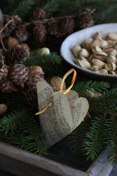 sweet chocolates and salty pistachios.  ideas from Norway