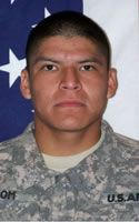Army Sgt. Troy O. Tom  Died August 19, 2009 Serving During Operation Enduring Freedom  21, of Shiprock, N.M.; assigned to the 1st Battalion, 17th Infantry Regiment, 5th Stryker Brigade Combat Team, 2nd Infantry Division, Fort Lewis, Wash.; died Aug. 18 in Arghandab, Afghanistan, of wounds sustained when an improvised explosive device detonated near his unit.