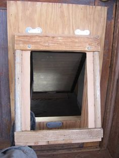 A Dog Door: the Two-Flap Solution : 8 Steps (with Pictures) - Instructables
