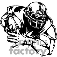 NFL American Football Player Hochwertigen makiavidhaan/Auto-makiavidhaan/Autoaufkleber 10 x 12 cm-NFL Football Clip Art, Football Banner, Football Outline, Football Field, Vinyl Wall Art, Vinyl Decals, Sticker, Window Decals, Cheer Posters