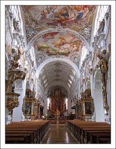 Steingaden Abbey,  Steingaden, Bavaria, Germany
