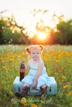 My Southern Style: wildflower mini - sessions from spring