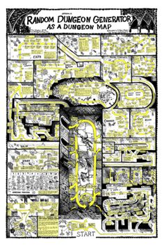 I need this poster.  Blog of Holding: Random Dungeon Generator as a Dungeon Map Poster – Shop.GameSalute.com