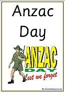 35 Free Anzac Day Words and Activity Ideas