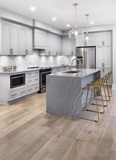This is the kitchen of the Gala townhome in Findlay Creek. Kitchen Pantry, Kitchen Decor, Kitchen Ideas, Minimalist Home Decor, White Home Decor, Inspired Homes, Model Homes, Boho Decor, Future House