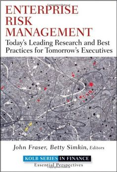 Enterprise Risk Management: Today's Leading Research and Best Practices for Tomorrow's Executives, http://www.amazon.ca/dp/0470499087/ref=cm_sw_r_pi_awdl_PHdUvb18M2ESP