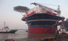 'Arendal Spirit' on sea trials (VIDEO)