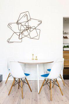 sillas DSW de Charles y Ray Eames