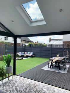 Our Modern Conservatory Extension- Before and After Home Renovation Project 5 - Mummy Daddy Me # Modern Conservatory, Conservatory Extension, Conservatory Interiors, Back Garden Design, Modern Garden Design, Terrace Design, House Extension Design, House Design, Loft Design