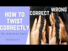How To Twist Natural Hair Properly for Twist Outs - Learn to care for elegant na. - How To Twist Natural Hair Properly for Twist Outs – Learn to care for elegant natural hair, highl - Natural Hair Twists, Pelo Natural, Natural Twist Hairstyles, How To Twist Afro Hair, Twist Out 4c Hair, Scene Hair, Nattes Twist Outs, Curly Hair Styles, Natural Hair Styles