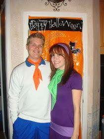 Couple Costume: Feed and Daphne from Scooby Doo