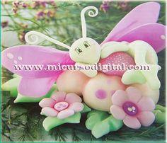 decoraciones con mariposas | CURSO PORCELANICRON PASTA FRIA MASA FLEXIBLE RECORDATORIOS FIGURAS ...