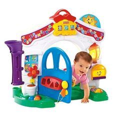 Crawl-thru Baby House by Fisher Price. Best Christmas Toys for 1 Year Old Girls - The Perfect Gift Store