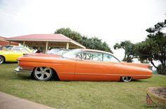 1960 Cadillac 2 Door Coupe Show Drag Bagged Custom RAT ROD  Photo
