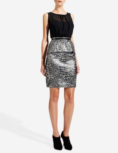 Forenza Brocade Dress from The Limited. Limited dresses are always winners.