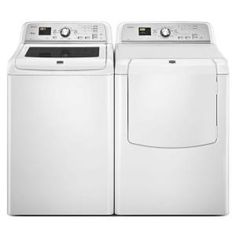 Maytag Bravos XL 4.5 cu. ft. High-Efficiency Top Load Washer in White, ENERGY STAR-MVWB725BW at The Home Depot