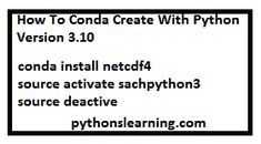 How to conda create with python version 3.10 | python tutorials point Python Version, New Environment, Prompts, Create Yourself, Tutorials, Wizards