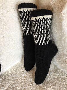 Ravelry: Onkel Per`s sokker pattern by Gro Andersen Knitting Socks, Knit Socks, Mittens, Ravelry, Wool, Pattern, Slippers, Design, Footwear