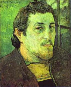Gauguin, Paul (1848-1903) - 1891 Self Portrait