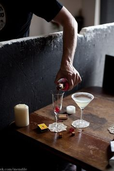 creating cocktail