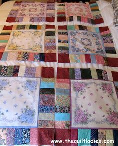 The Quilt Ladies Book Collection: Scrappy Hankie Part 2
